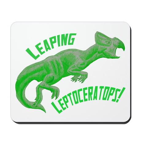 Green Leptoceratops Mousepad