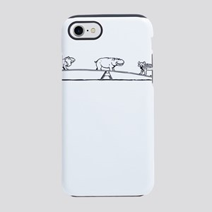 Animals on a Seesaw iPhone 8/7 Tough Case