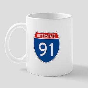 Interstate 91, USA Mug