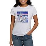 Northern Lights Women's T-Shirt