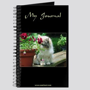 Pansy Cat Journal