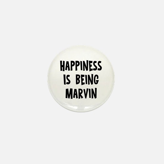 Happiness is being Marvin Mini Button