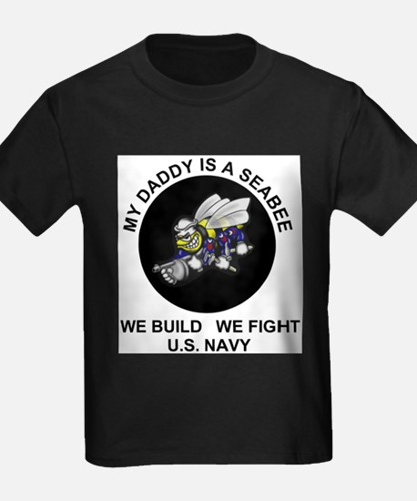 US Navy Seabee Daddy T-Shirt