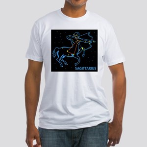 SAGITTARIUS (18) Fitted T-Shirt