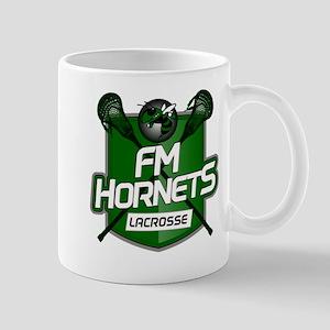 Fayetteville Manlius Hornets Lacrosse Logo Mugs