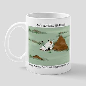 Jack Russell Terriers Digging Mug