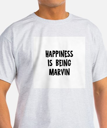 Happiness is being Marvin T-Shirt