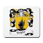 Vogler Family Crest Mousepad