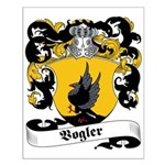 Vogler Family Crest Small Poster