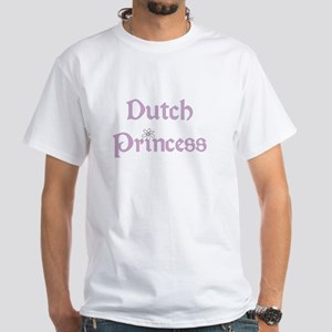 Dutch Princess White T-Shirt