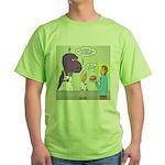 T-Rex Customer Service Green T-Shirt