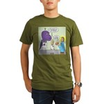 T-Rex Customer Servic Organic Men's T-Shirt (dark)