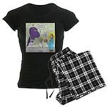 T-Rex Customer Service Women's Dark Pajamas