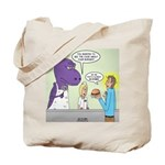 T-Rex Customer Service Tote Bag