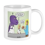 T-Rex Customer Service 11 oz Ceramic Mug