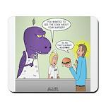 T-Rex Customer Service Mousepad