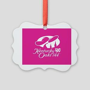 Official KY Oaks Logo 144 Ornament