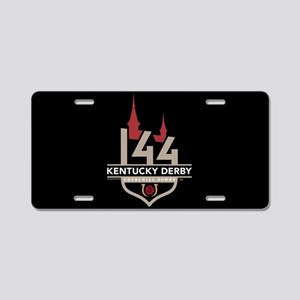 The Kentucky Derby 144 Aluminum License Plate
