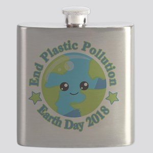 Earth Day 2018   End Plastic Pollution Flask