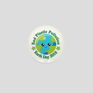 Earth Day 2018 | End Plastic Pollution Mini Button