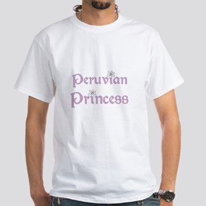 Peruvian Princess White T-Shirt