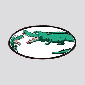 Alligator Family Patch