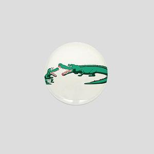 Alligator Family Mini Button