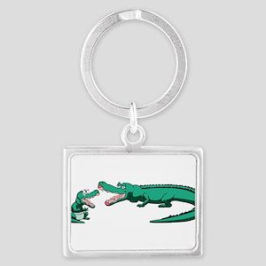 Alligator Family Keychains