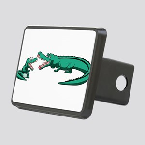 Alligator Family Rectangular Hitch Cover