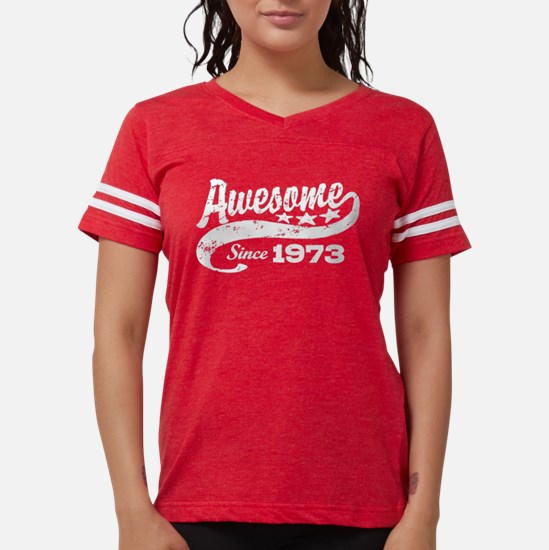 Awesome Since 1973 Women's Dark T-Shirt