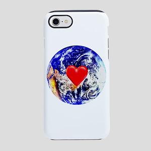 Earth Heart iPhone 8/7 Tough Case