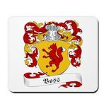Voss Family Crest Mousepad