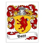 Voss Family Crest Small Poster
