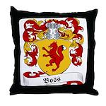 Voss Family Crest Throw Pillow