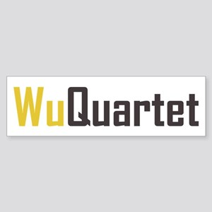 Wu Quartet Bumper Sticker