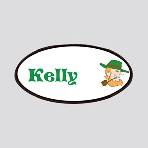 Kelly Custom Name Leprechaun St. Patricks Day Patc