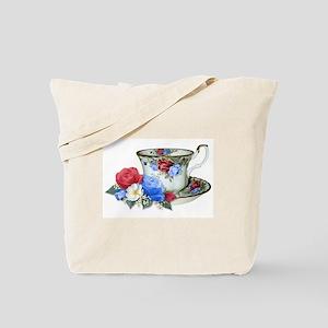 American TeaCup Tote Bag