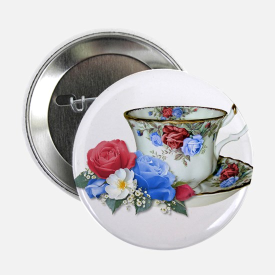 American TeaCup Button
