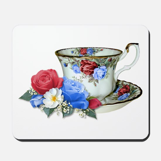 American TeaCup Mousepad