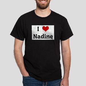 I Love Nadine Ash Grey T-Shirt