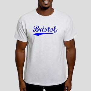 Vintage Bristol (Blue) Light T-Shirt