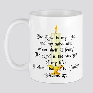 """The Lord is my light..."" Mug"