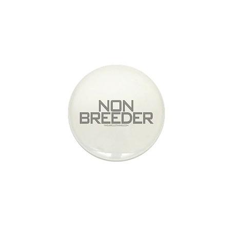 Non Breeder Mini Button