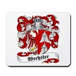 Wechsler Family Crest Mousepad