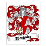 Wechsler Family Crest Small Poster