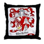 Wechsler Family Crest Throw Pillow