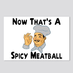 Spicy Meatball Postcards (Package of 8)