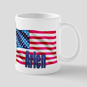 Arlen Personalized USA Flag Mug
