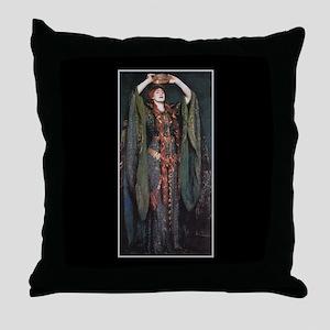 Ellen Terry As Lady MacBeth 2 Throw Pillow