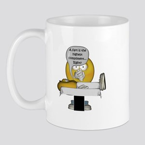 Smiley Massage Fart Mug
